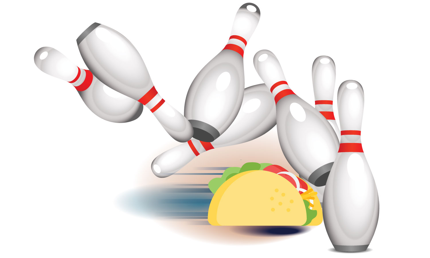 Tournaments and Tacos Bowling Event