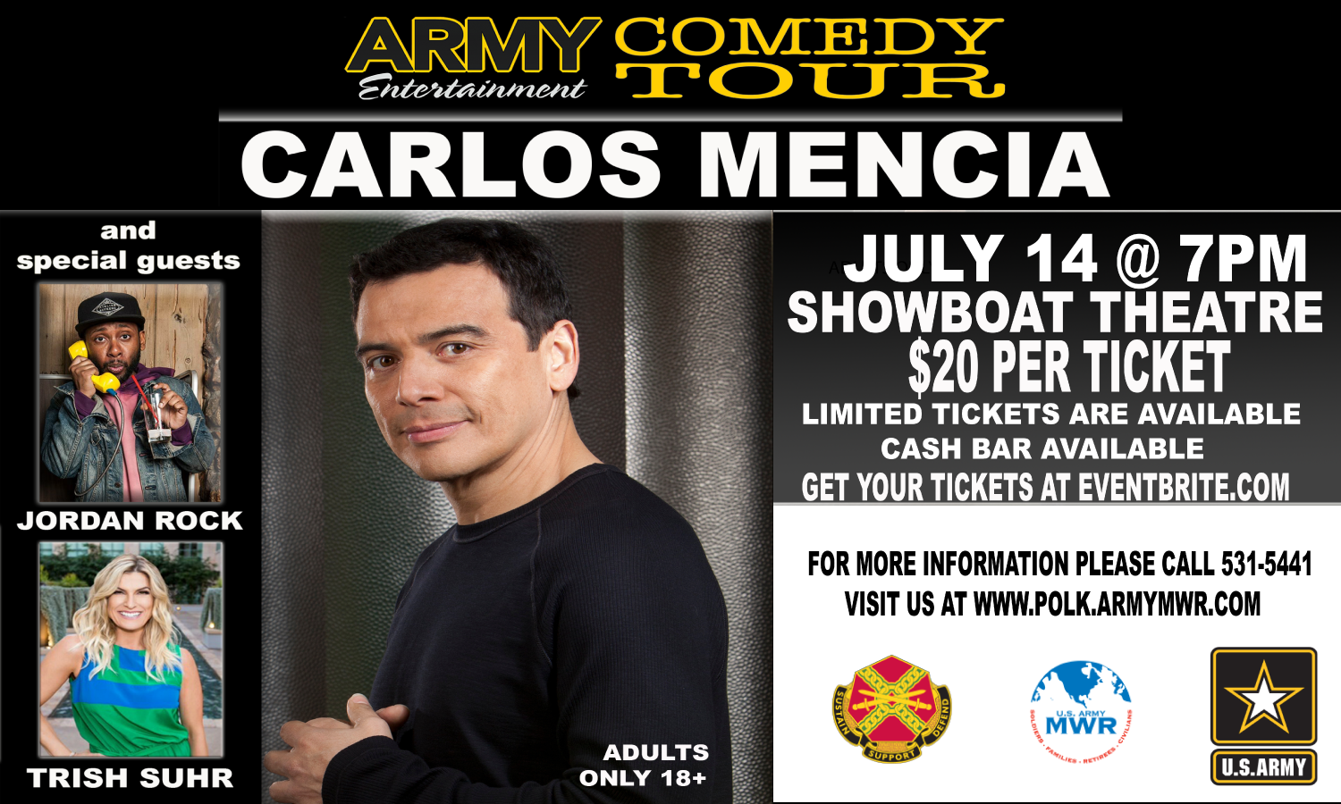 ARMY Entertainment Comedy Tour