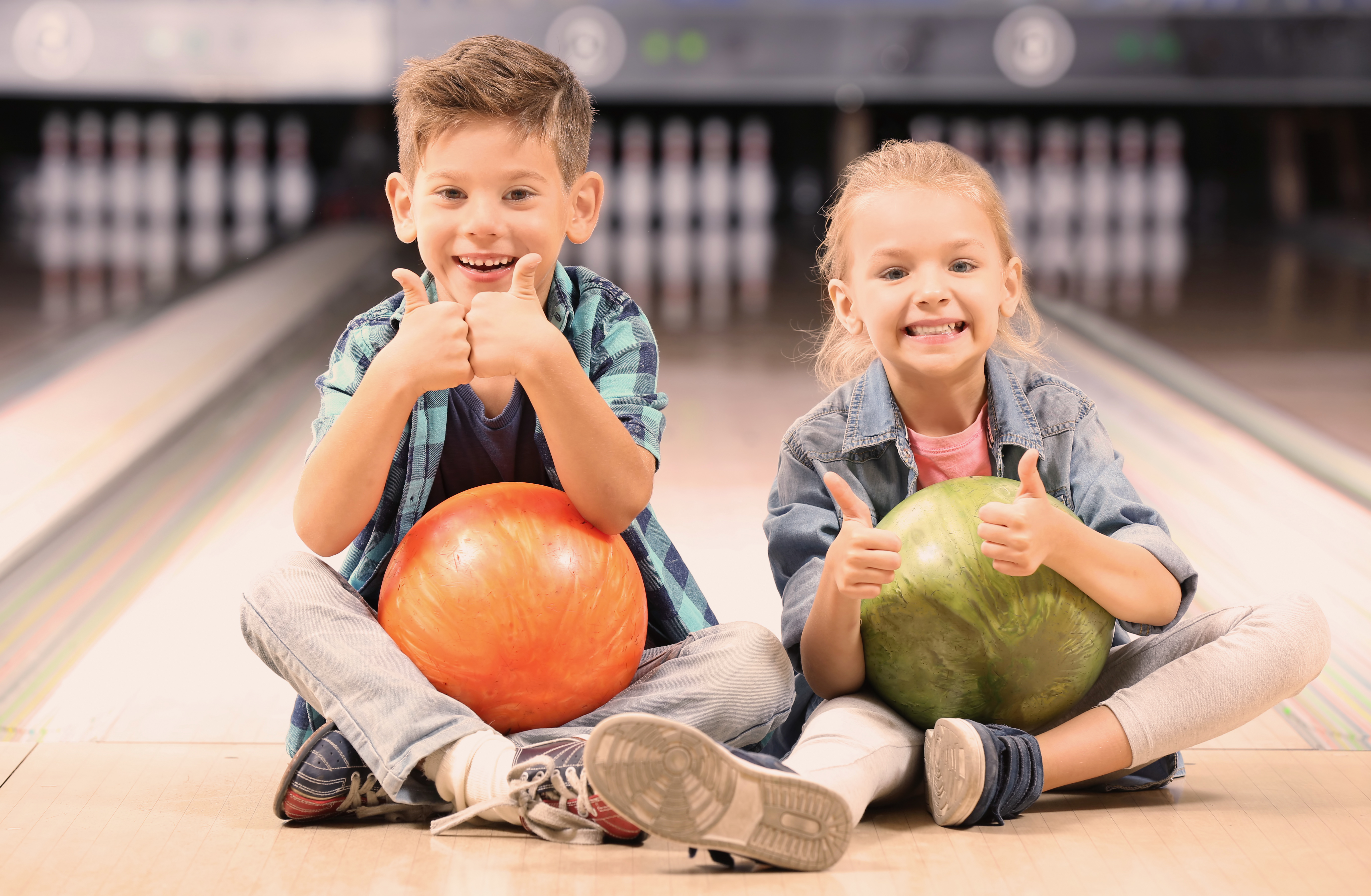 Kids Bowl Free at the Strike Zone Bowling Center