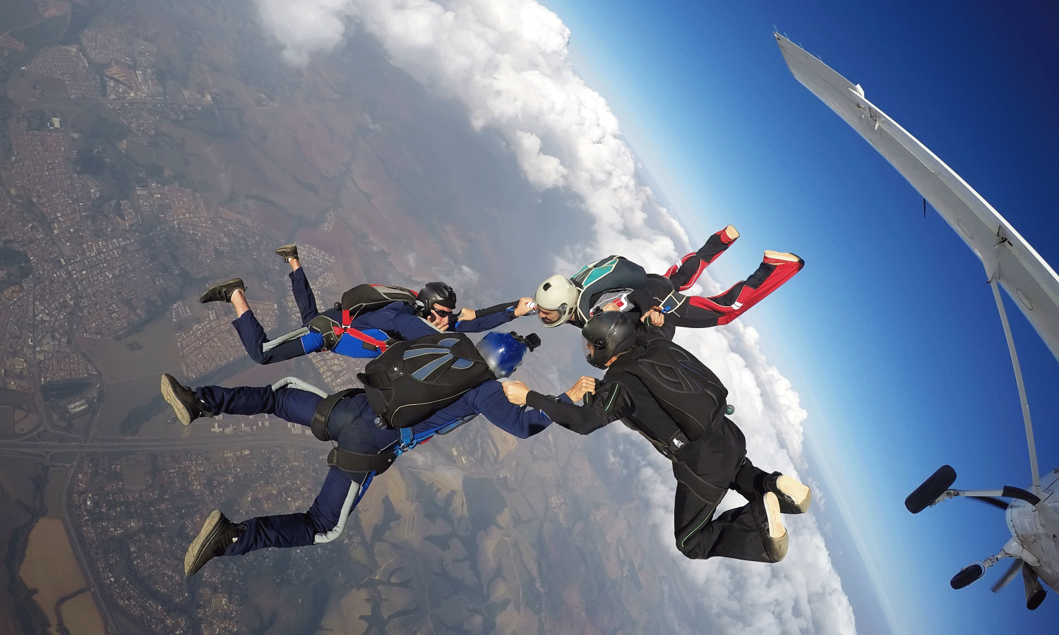 BOSS Program Skydiving Trip