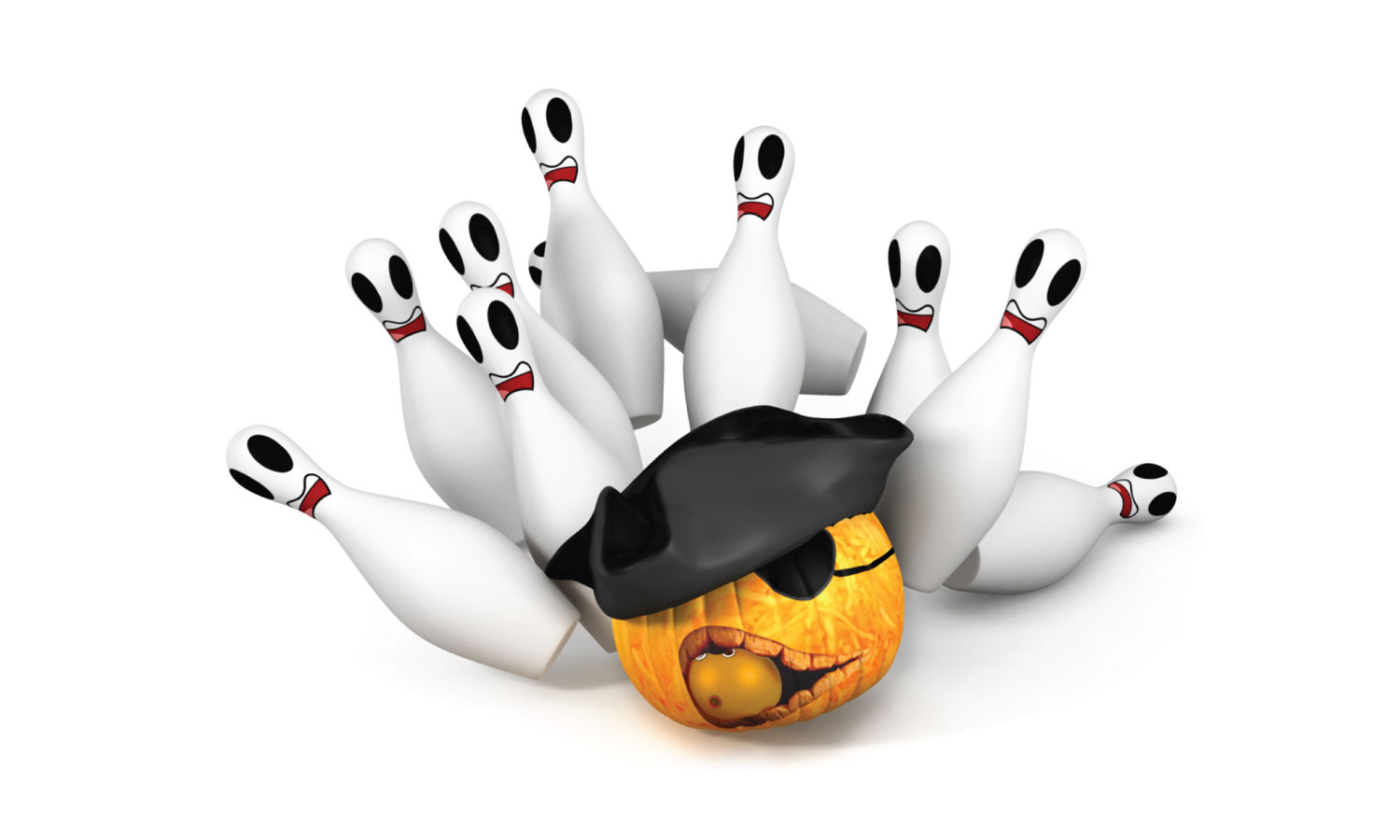 Kid's Halloween Party at Strike Zone Bowling Center