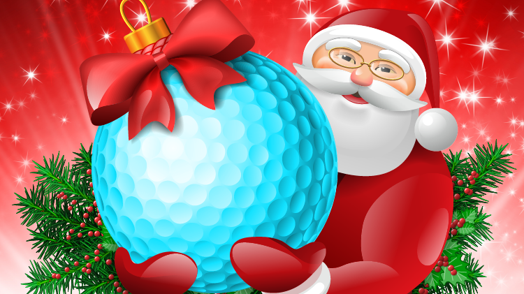 Free Mini Golf with Santa