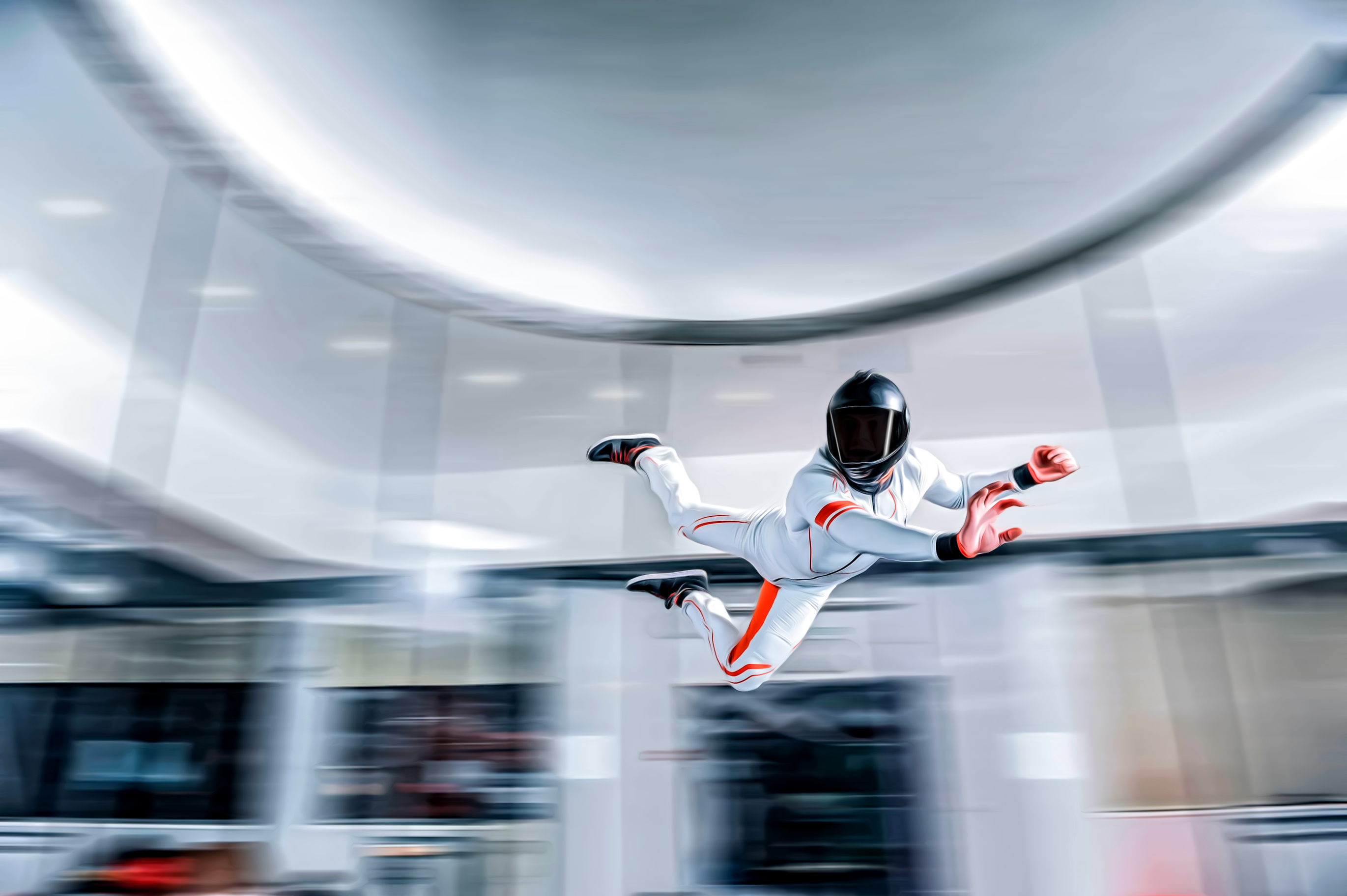 BOSS Indoor Skydiving Trip