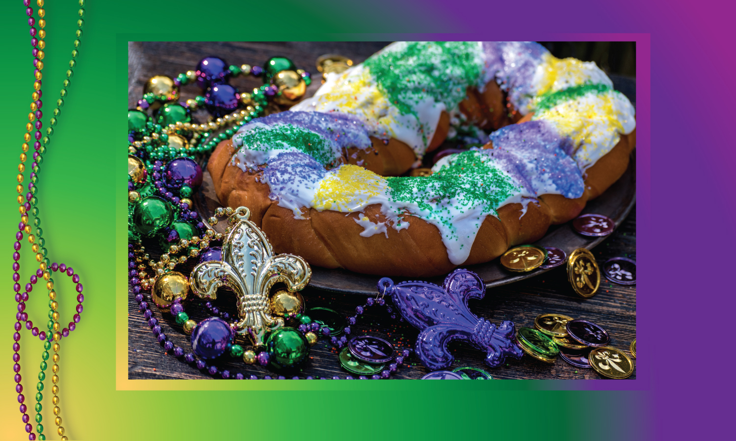 The Forge Bar and Grill King Cakes